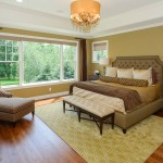 New Addition Master Bedroom above Theater/Billiard Room