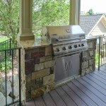 New Covered Grill off Screen Porch