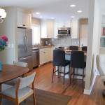 Remodeled Kitchen with new Island