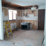 Demolition Kitchen to Studs