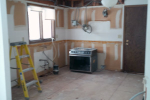 Demolition Kitchen to Studs